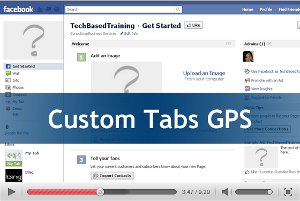 Custom Tab GPS