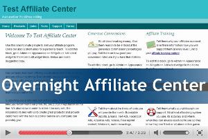 Overnight Affiliate Center